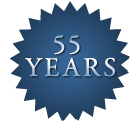 55 years in business